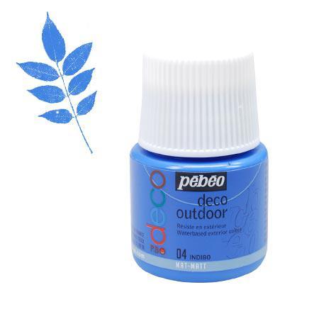 P.BO déco - Déco Outdoor - Indigo mat - couleur 04