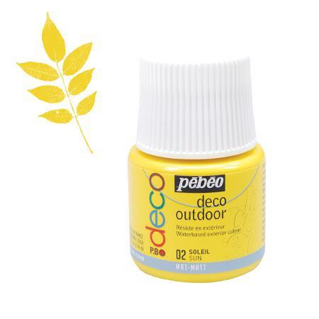 P.BO déco - Déco Outdoor - Soleil mat - couleur 02