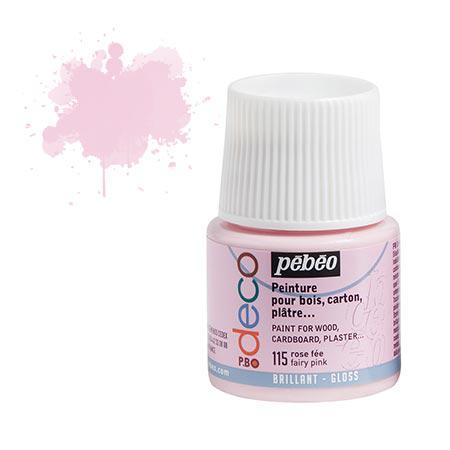 PBO déco brillant - Rose fée 45 ml - couleur 115