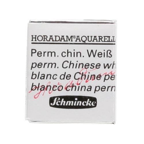 Peinture aquarelle Horadam demi-godet extra-fine 102 - Blanc de Chine permanent