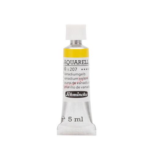 Peinture aquarelle Horadam 5 ml extra-fine 207 - Jaune de vanadium