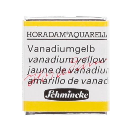 Peinture aquarelle Horadam demi-godet extra-fine 207 - Jaune de vanadium