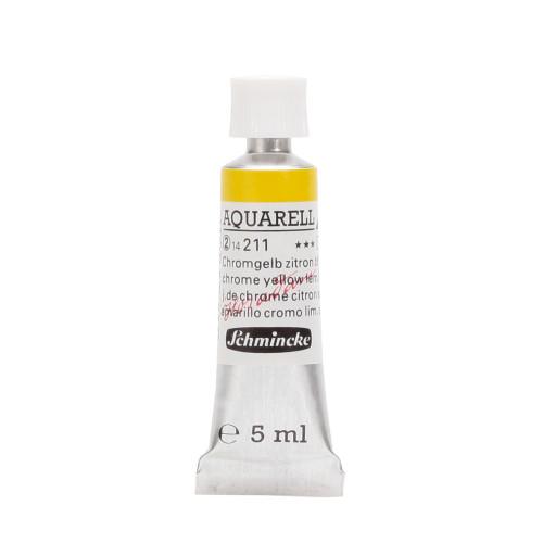 Peinture aquarelle Horadam 5 ml extra-fine 211 - Jaune de chrome citron