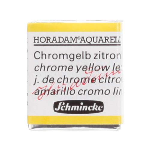 Peinture aquarelle Horadam demi-godet extra-fine 211 - Jaune de chrome citron
