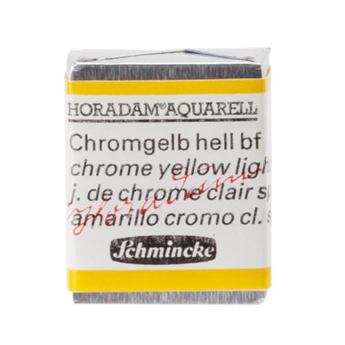 Peinture aquarelle Horadam demi-godet extra-fine 212 - Jaune de chrome clair