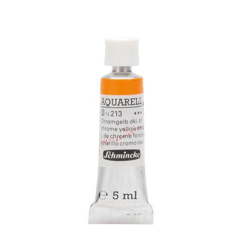Peinture aquarelle Horadam 5 ml extra-fine 213 - Jaune de chrome foncé