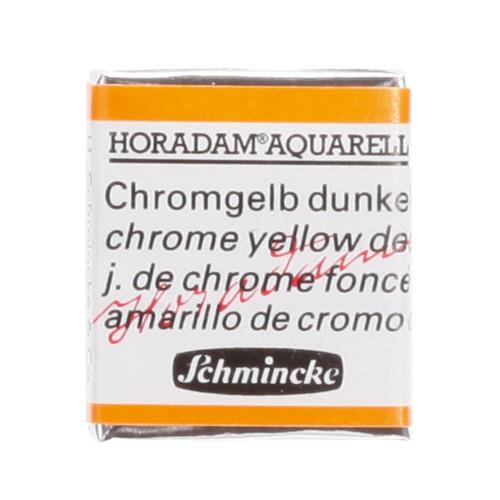 Peinture aquarelle Horadam demi-godet extra-fine 213 - Jaune de chrome foncé