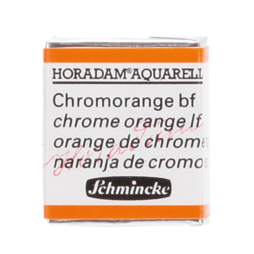 Peinture aquarelle Horadam demi-godet extra-fine 214 - Orange de chrome