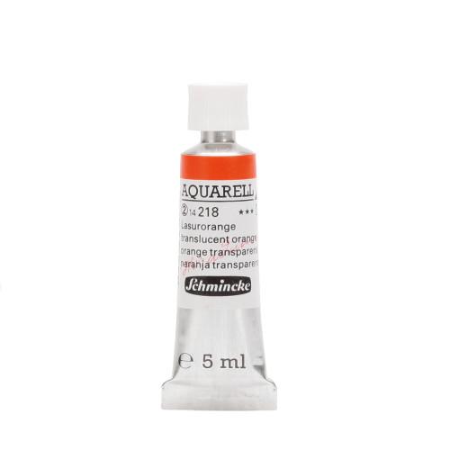 Peinture aquarelle Horadam 5 ml extra-fine 218 - Orange transparent