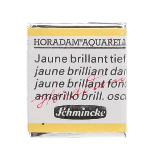 Peinture aquarelle Horadam demi-godet extra-fine 221 - Jaune brillant foncé