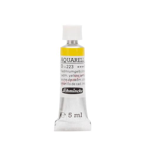 Peinture aquarelle Horadam 5 ml extra-fine 223 - Jaune de cadmium citron