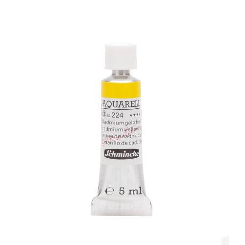Peinture aquarelle Horadam 5 ml extra-fine 224 - Jaune de cadmium clair