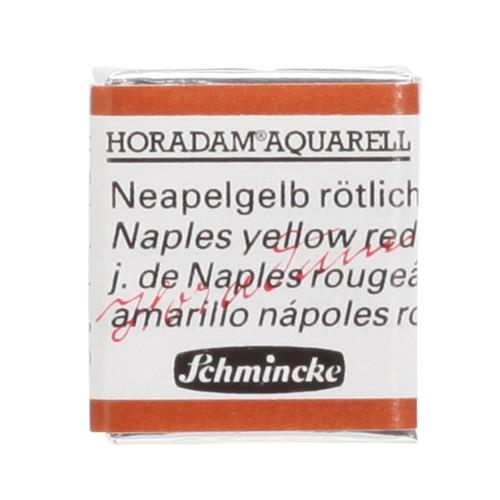 Peinture aquarelle Horadam demi-godet extra-fine 230 - Jaune de Naples rougeâtre