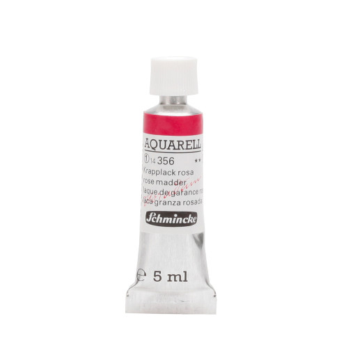 Peinture aquarelle Horadam 5 ml extra-fine 356 - Laque de garance rose