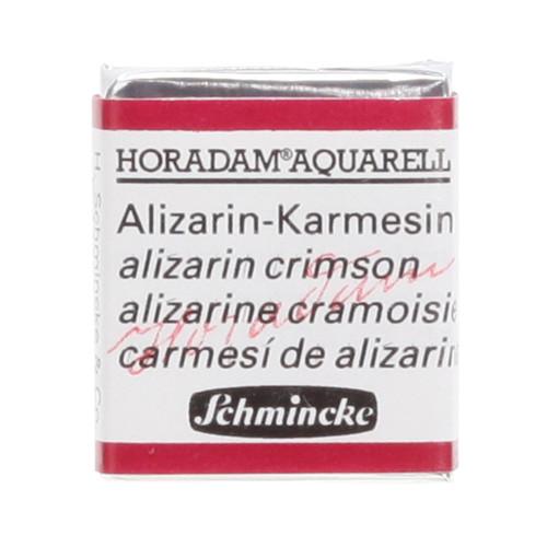 Peinture aquarelle Horadam demi-godet extra-fine 357 - Alizarine cramoisie