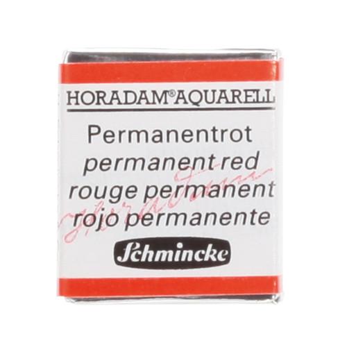 Peinture aquarelle Horadam demi-godet extra-fine 361 - Rouge permanent
