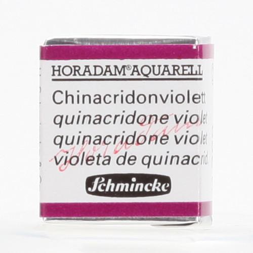 Peinture aquarelle Horadam demi-godet extra-fine 368 - Quinacridone violet