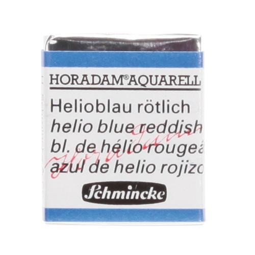 Peinture aquarelle Horadam demi-godet extra-fine 478 - Bleu d'hélio rougeâtre