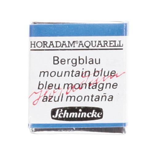 Peinture aquarelle Horadam demi-godet extra-fine 480 - Bleu montage