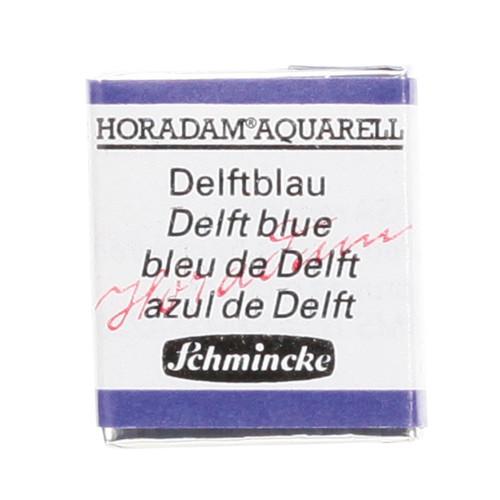 Peinture aquarelle Horadam demi-godet extra-fine 482 - Bleu de delft