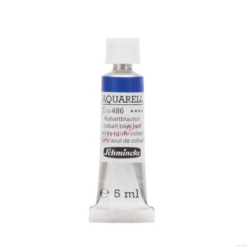 Peinture aquarelle Horadam 5 ml extra-fine 486 - Teinte bleu de cobalt