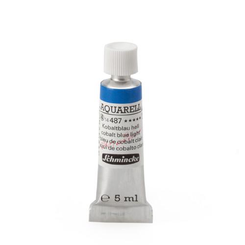 Peinture aquarelle Horadam 5 ml extra-fine 487 - Bleu de cobalt clair