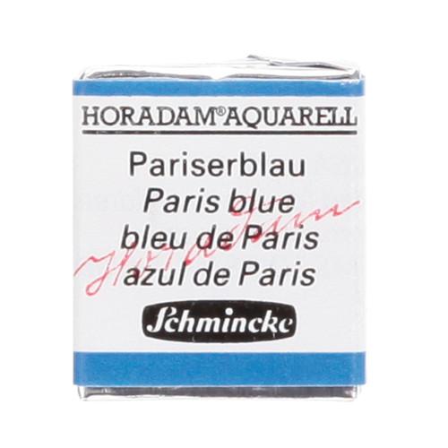 Peinture aquarelle Horadam demi-godet extra-fine 491 - Bleu de Paris