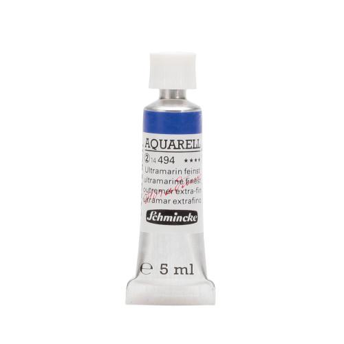 Peinture aquarelle Horadam 5 ml extra-fine 494 - Outremer extra-fin