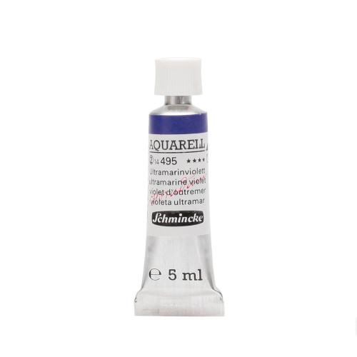 Peinture aquarelle Horadam 5 ml extra-fine 495 - Violet d'outremer