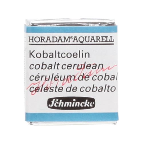 Peinture aquarelle Horadam demi-godet extra-fine 499 - Ceruleum de cobalt