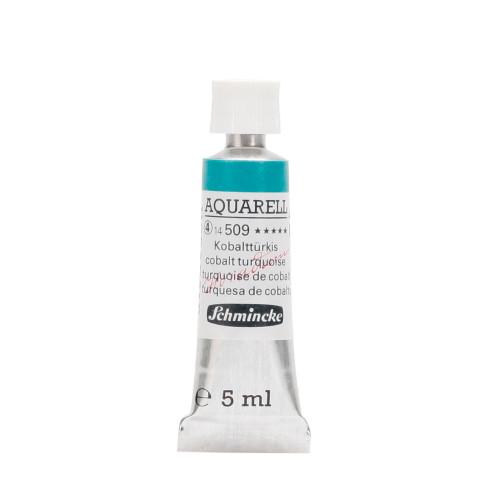 Peinture aquarelle Horadam 5 ml extra-fine 509 - Turquoise de cobalt