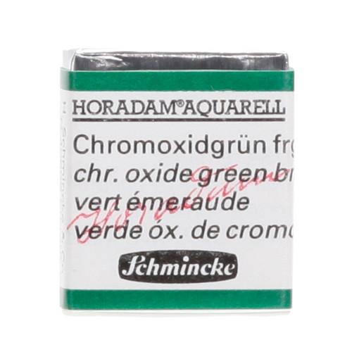 Peinture aquarelle Horadam demi-godet extra-fine 511 - Vert émeraude