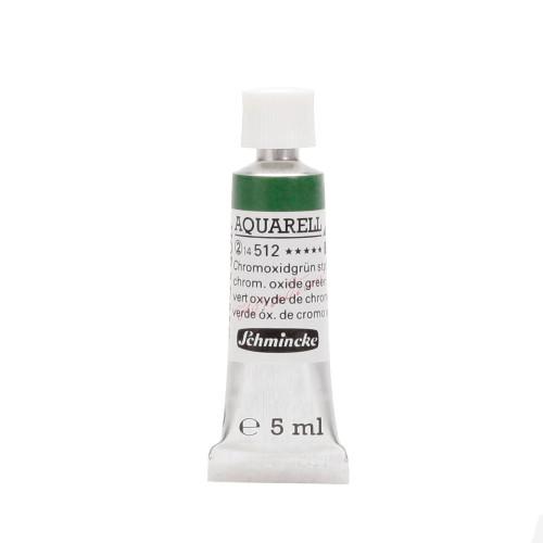 Peinture aquarelle Horadam 5 ml extra-fine 512 - Vert oxyde de chrome