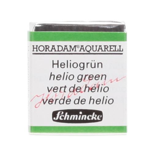 Peinture aquarelle Horadam demi-godet extra-fine 514 - Vert d'hélio