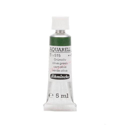Peinture aquarelle Horadam 5 ml extra-fine 515 - Vert olive