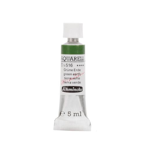 Peinture aquarelle Horadam 5 ml extra-fine 516 - Terre verte