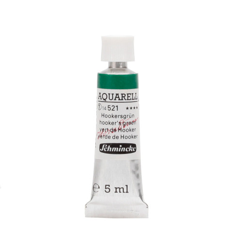Peinture aquarelle Horadam 5 ml extra-fine 521 - Vert de hooker