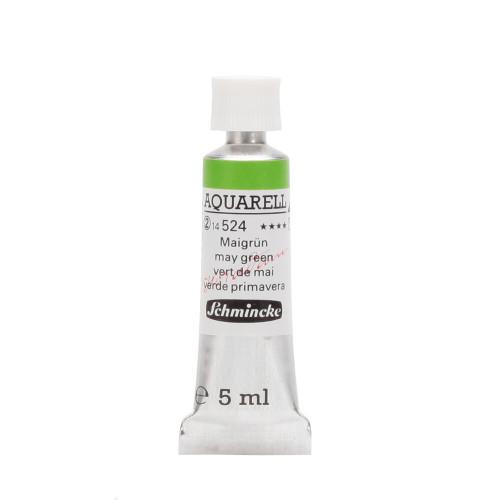 Peinture aquarelle Horadam 5 ml extra-fine 524 -Vert de mai