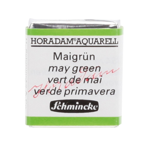 Peinture aquarelle Horadam demi-godet extra-fine 524 - Vert de mai