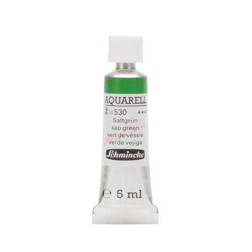 Peinture aquarelle Horadam 5 ml extra-fine 530 - Vert de vessie