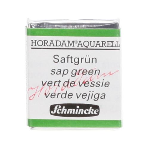 Peinture aquarelle Horadam demi-godet extra-fine 530 - Vert de vessie