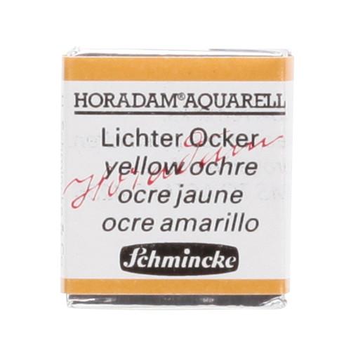 Peinture aquarelle Horadam demi-godet extra-fine 655 - Ocre jaune