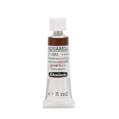Peinture aquarelle Horadam 5 ml extra-fine 662 - Teinte sépia