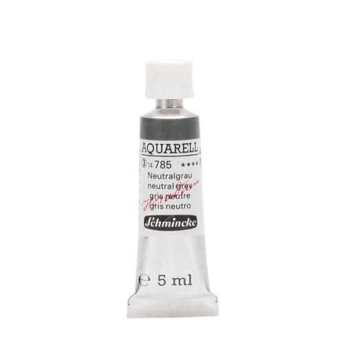 Peinture aquarelle Horadam 5 ml extra-fine 785 - Gris neutre