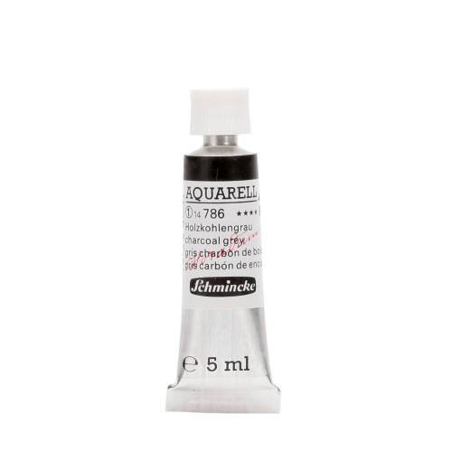 Peinture aquarelle Horadam 5 ml extra-fine 786 - Gris charbon de bois