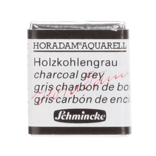 Peinture aquarelle Horadam demi-godet extra-fine 786 - Gris charbon de bois