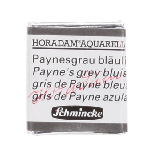 Peinture aquarelle Horadam demi-godet extra-fine 787 - Gris de Payne bleuâtre