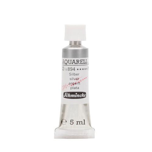 Peinture aquarelle Horadam 5 ml extra-fine 894 - Argent