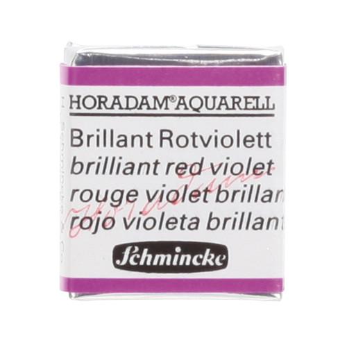 Peinture aquarelle Horadam demi-godet extra-fine 940 - Rouge violet brillant