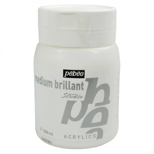 Acrylics - Medium brillant - 500 ml